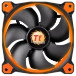 Кулер для кейса Thermaltake Riing 12 LED Orange, Чёрный